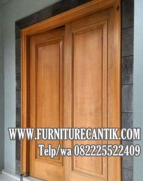 Pintu Rumah Mewah Jati