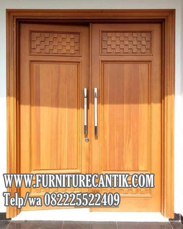 Pintu Rumah Mewah Minimalis Jati TPK